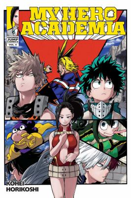 My hero academia: Vol. 8