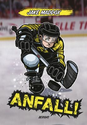 Anfall! / Jake Maddox ; illustrationer: Sean Tiffany ; från engelskan av Bo Samulesson.